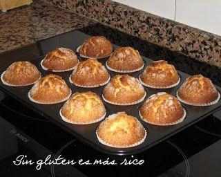 Las Mejores Recetas De Casa Receta Magdalenas Sin Gluten Casa De Gluten Las Magdalenas Mejores Recet Sin Gluten Gluten Free Cakes Gluten Free Recipes