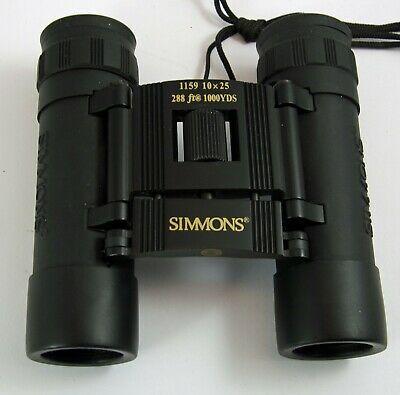 Sponsored Simmons 10 X 25 1159 Compact Binoculars In 2020 Binoculars Compact Camera