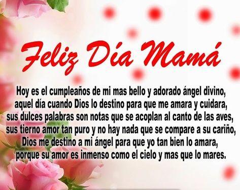 Bendiciones De Cumpleaños Para Mi Madre Feliz Cumpleaños