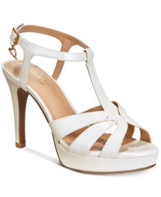 6387735ef Thalia Sodi Velda Platform Dress Sandals, Created For Macy's | prom ...