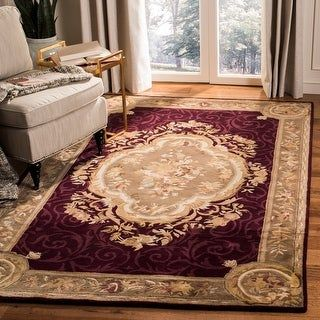 Safavieh Handmade Empire Lorinda Traditional Oriental Wool Rug In 2020 Area Rugs Wool Area Rugs Rugs
