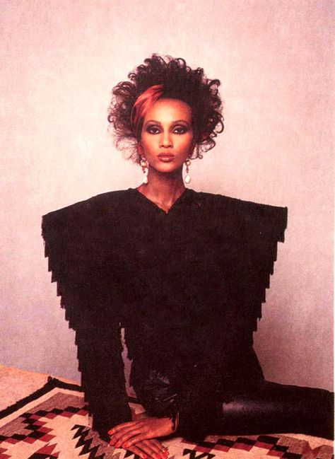 Iman by Barry Lategan, 1977