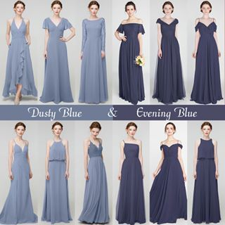 Bridesmaid Dresses And Gift Ideas Tulle Chantilly Designer Bridesmaid Dresses Bridesmaid Separates Dusty Blue Bridesmaid Dresses