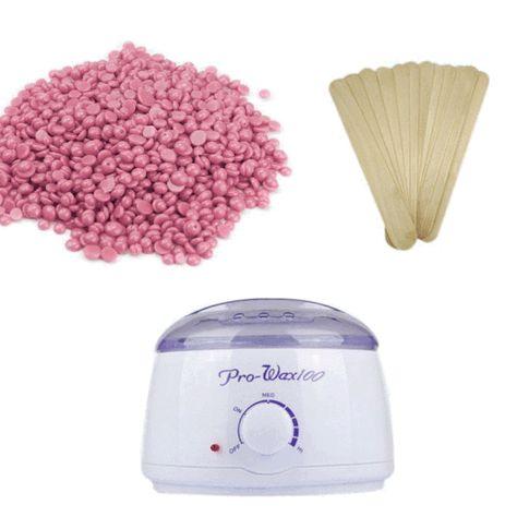 Wax Beans Warmer Wax Spatulas Bundle With Images Pearl Wax