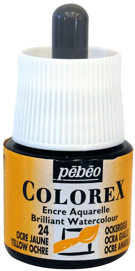 Pebeo Colorex Concentre Dye Based Liquide Aquarelle Encre 45ml Ad
