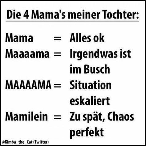 4 Stufen eines mamas