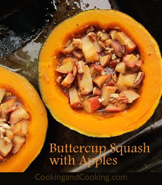 Buttercup Squash With Apples In 2020 Buttercup Squash Power Cooker Recipes Food Recipes
