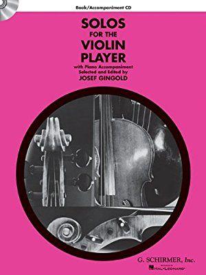 Amazon Com Solos For The Violin Player Violin And Piano