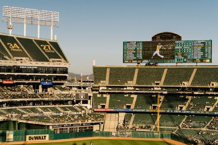 The Beauty Of Americas Ugliest Ballparkblog Bit Ly 2wv6ncl Oakland Coliseum Sports Images Oakland