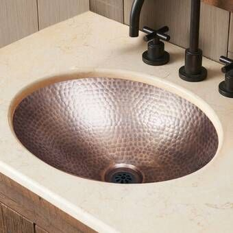 Hobbes Metal Specialty Vessel Bathroom Sink Sink Bathroom Sink