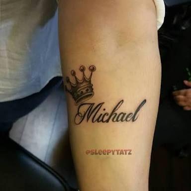 Image Result For Crown Tattoos With Names Tatuajes De Nombres De