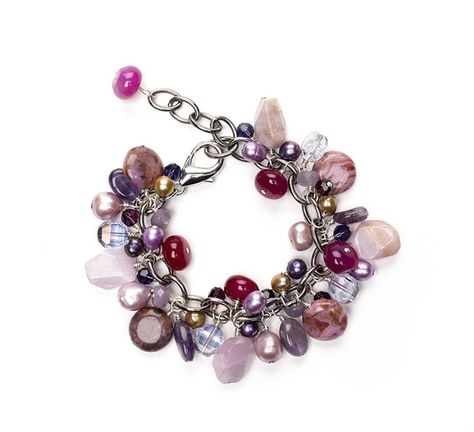 Naomi knows: Tips on making a bead-and-chain bracelet. For 2014, work in Pantone's color of the year: radiant orchid! BeadStyleMag.com