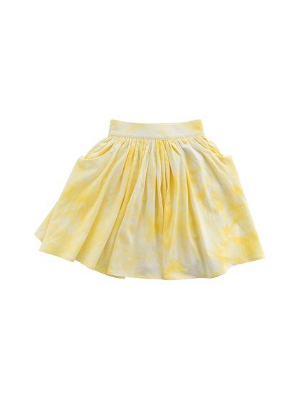 ccade40ad Tie-Dye Cotton Skirt by Teela NYC at Gilt   mini fashion   Cotton ...