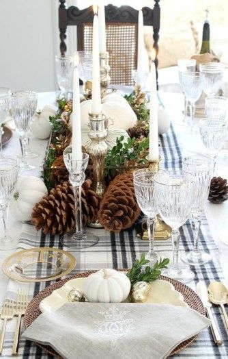 60 Extraordinary Winter Table Decoration You Can Make Holiday