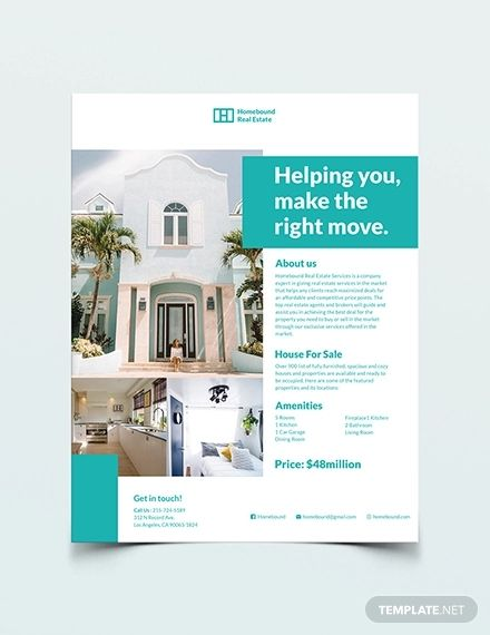 30 Real Estate Flyer Templates Psd Word Ai Eps Vector Real