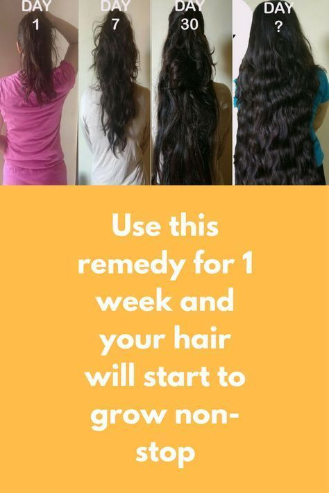 Use This Remedy For 1 Week And Your Hair Will Start To Grow