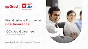 Post Graduate Training Programe In Insurance Managment By Hdfc