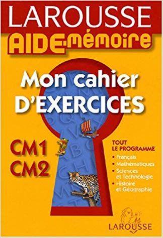 Mon Cahier D Exercices Cm1 Cm2 Ebook Telecharger Gratuit