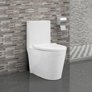 American Standard Tofino Complete 1 Piece 1 1 Gpf Dual Flush Elongated Toilet In White With Slow Close Seat 2996c206 020 One Piece Toilets Dual Flush Toilet Toilet