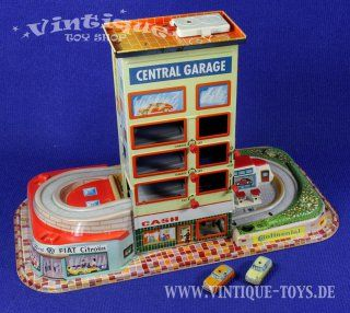 Technofix 308 blikken speelgoed LiftGarage Duitsland