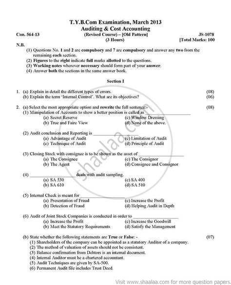 MHRM tybcom question paper 2012 Mumbai university TYBCOM - valuation report