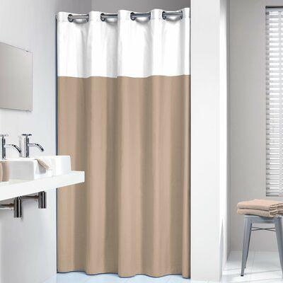 Wade Logan Jethro Single Shower Curtain Colour Beige In 2020