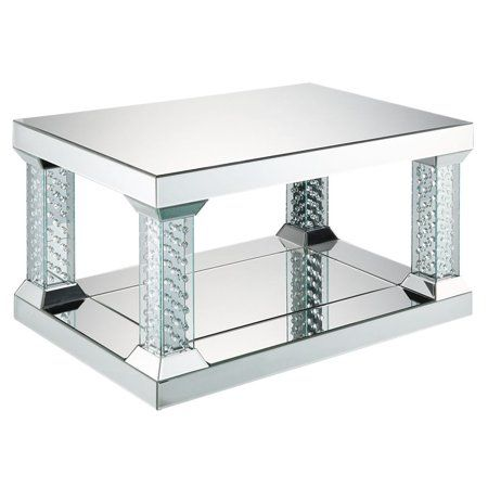 Home Mirrored Coffee Tables Coffee Table Square