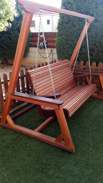 Outdoor Bench Swing With Images Outdoor Bench Swing Garden