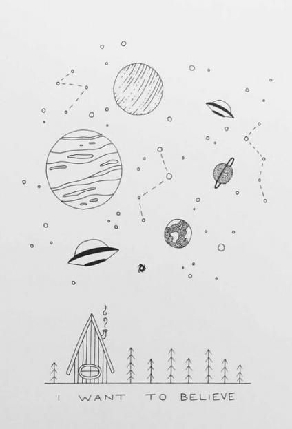 Space Drwing Ideas
