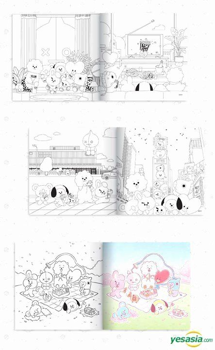 Coloring Book Release Date New Coloring Book Release Date Elegant Yesasia Bt21 Coloring Halloween Coloring Book Coloring Books Stress Coloring Book