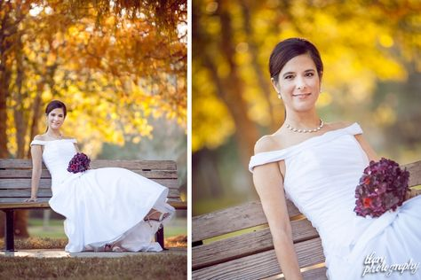 Autumn Bridals Feating a Lace Cap Sleeve Wedding Dress by