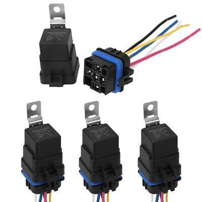 Ad Ebay 4x Automotive Car Auto 5 Pin Relay Socket Harness Plug Holder 40 Amp Waterproof Relay Ebay Automotive
