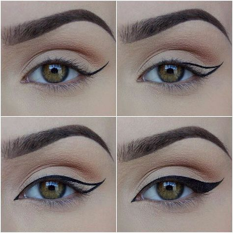 〰 How i do my liner 〰 I use @zoevacosmetics 315 fine liner and any gel liner with 1 drop of @inglot_cosmetics Duraline