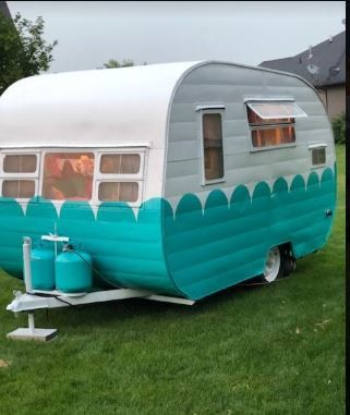 Vintage Camper Trailers For Sale 1955 Westerner This Cute Little Trailer Is 15 Ft Overall 12 Ft Box Approx Vintage Camper Vintage Camper Art Camper Art