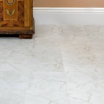 Ben And Jonah Simple Elegance Losas Bianco 12 X 12 X 1 2mm Luxury Vinyl Tile Reviews Wayfair In 2020 Vinyl Tile Vinyl Flooring Peel And Stick Floor