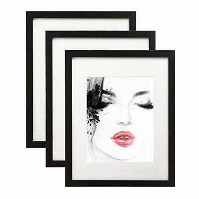 Details About Elabo 11x14 Black Picture Frame 3 Pack High Definition Plastic Display In 2020 Black Picture Frames Black Picture Oval Picture Frames