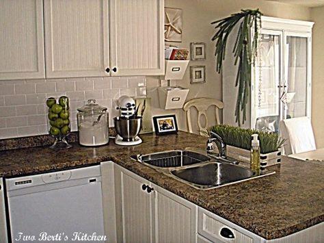 Kitchen Update   looks like jamocha granite laminate countertop       Home  improvement   Pinterest   Laminate countertop  Kitchen updates and  Countertop. Kitchen Update   looks like jamocha granite laminate countertop
