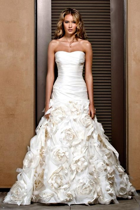 Very pretty.  #wedding #dresses