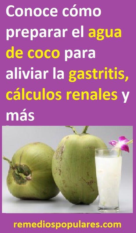 Pin De Otrupon Meji En Shot Agua De Coco Remedios Remedios Caseros