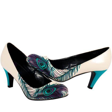 REINE Feather Heeled Sandals | Feather heels, Heels