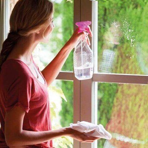 Cómo Quitar E L Sarro De Los Vidrios Como Limpiar Vidrios Limpieza De Vidrios Limpieza De Cristales