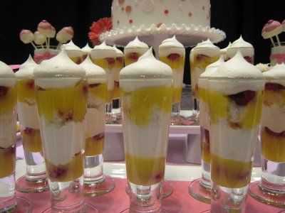 cocoa & fig: Layered Dessert Shooters