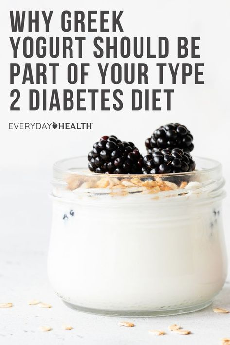 Protein-packed, low-fat Greek yogurt can be a good choice for people following a diabetes diet plan. Here's why.
