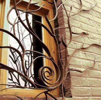 صور أشكال شبابيك حديد خارجية في هذا الموضوع سنتناول مجموعة من أفضل اشكال الشبابيك الحديدة الخارجية للمنازل الت Window Grill Design Window Grill Window Bars