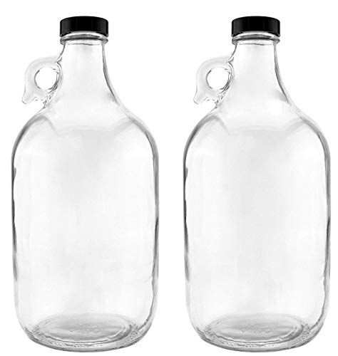 Nicebottles Glass Half Gallon Jug Pack Of 2 Nicebottles Https Www Amazon Com Dp B07c7tsq1m Ref Cm Sw R Pi Dp U X Qqiwdb5pdz Glass Jug Bottle Glass Bottles