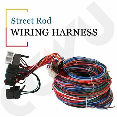 Advertisement Ebay 12 Circuit Hot Rod Wiring Harness Universal