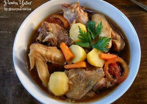 Resep Bistik Ayam Oleh Pawon Yusur