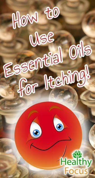 Essential Oils for Itching include Palmarosa, Geranium