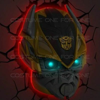 3d Fx Deco Led Night Light Transformers Bumblebee Autobot Room Wall Nightlight Ebay In 2020 Wall Nightlight Led Night Light Night Light