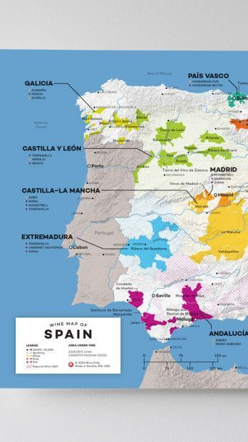 Map Of Spain Vineyards.Spain Wine Map In 2019 From Our Official Store Italian Wine
